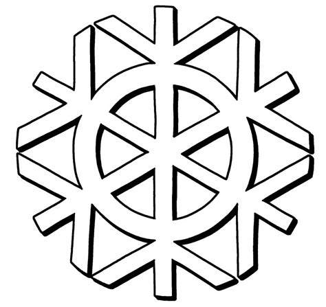 small snowflake coloring page snowflake coloring pages bestofcoloring com