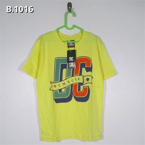 T Shirt Three Second Kaos 3second Baju 3second kaos anak dc b 1016 home