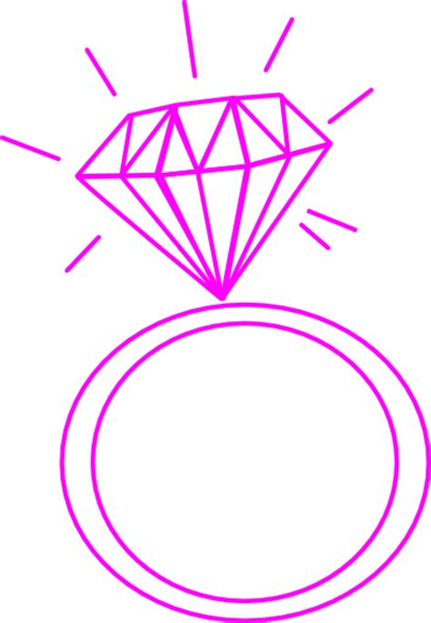 Ring Clipart ring pink clip at clker vector