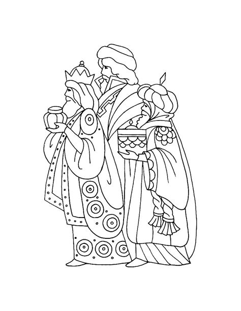 caspar melchior and balthasar coloring pages hellokids com
