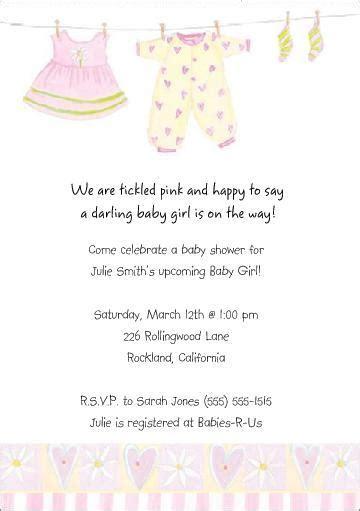 baby shower invitations exles baby shower - Baby Shower Invitation Wording Exles