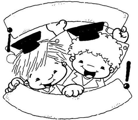imagenes niños graduados preescolar dibujos de graduaci 243 n infantil imagui clausura