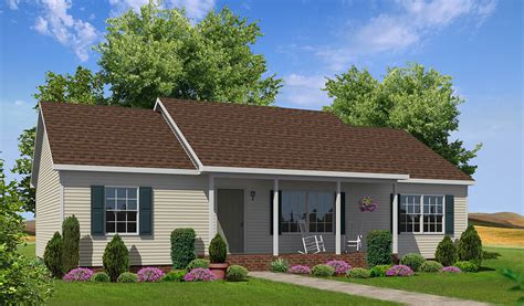 Laurel Floor Plan by Wheatfield Ranch Style Modular Homes