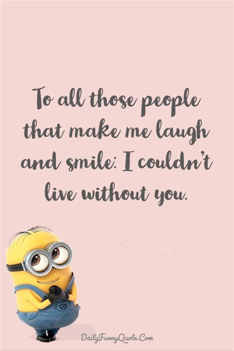 funny quotes minions  short funny words  images