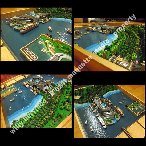 layout pelabuhan ikan contoh hasil maket bangunan tunggal khusus pabrik stadium
