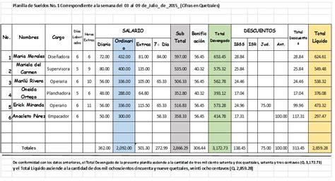 empleados de comercio liquidaci 243 n de sueldo septiembre de planilla excel con recibo de sueldo para empleados de