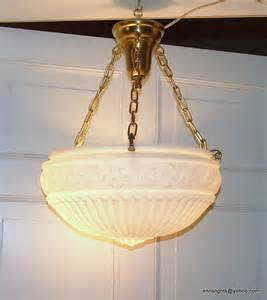 Vintage Ceiling Light Fixtures Antique Ceiling Light Fixture Vintage Inverted Dome Suspension