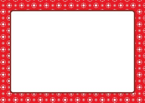 Christmas Card Borders Decorating Ideas Borders Templates