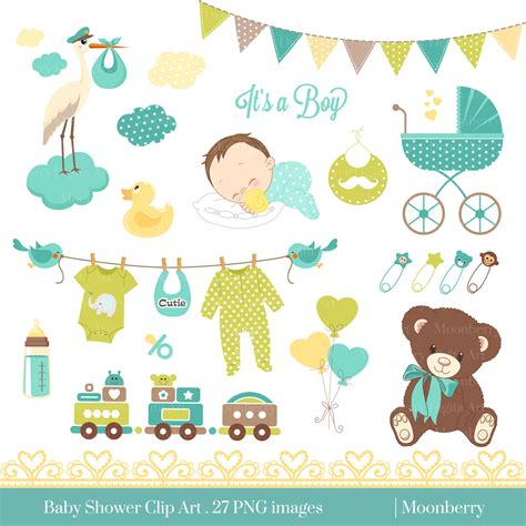 Neutral Baby Showers by Neutral Baby Shower Clipart 101 Clip