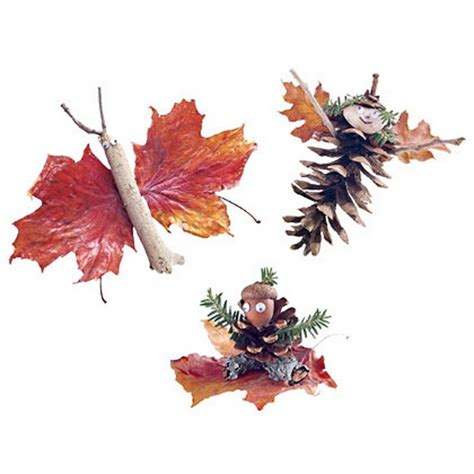 fall decor crafts easy fall leaf art projects