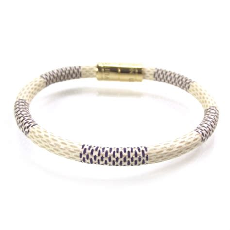 louis vuitton damier azur keep it bracelet 19827