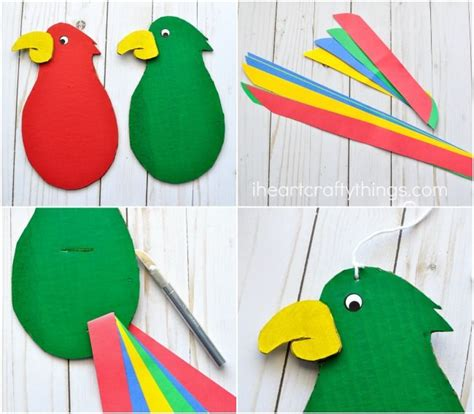 Paper Plate Parrot Craft - best 20 parrot craft ideas on paper plate