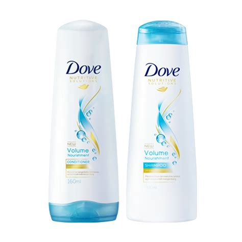 jual dove volume nourishment shoo conditioner package