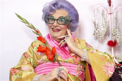 Edna Outer inside dame edna s broadway dressing room for all about me