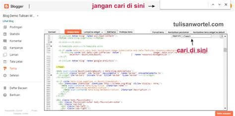 cara membuat menu dropdown di wp lengkap cara membuat tab menu bar di blog tulisan wortel