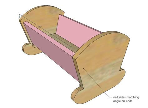 doll cradle woodworking plans white vintage doll cradle diy projects