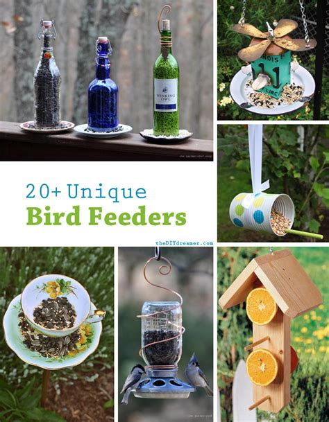 Cool Bird House Plans by 20 Unique Bird Feeders