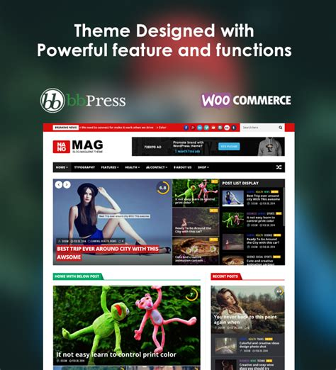 menu layout in wordpress nanomag responsive wordpress magazine theme by jellywp