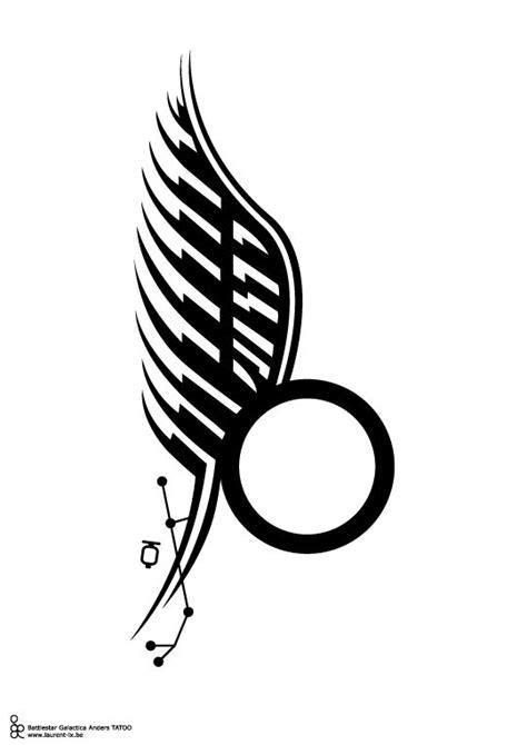 battlestar galactica tattoo samuel anders kara thrace tatoo bsg