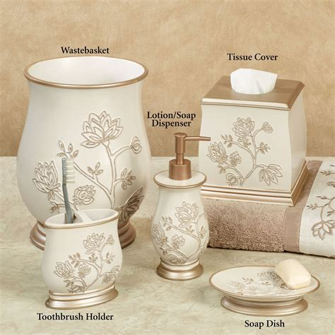 floral bathroom accessories maddie floral bath accessories