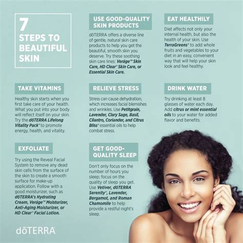 7 Steps To Glowing Skin by 70 Best Skin Images On Doterra