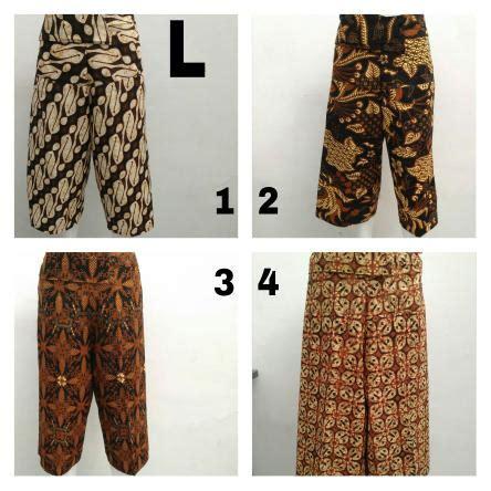 Celana Kulot Murah Kulot Batik Keraton grosir celana kulot motif batik wanita dewasa murah 35ribu baju3500