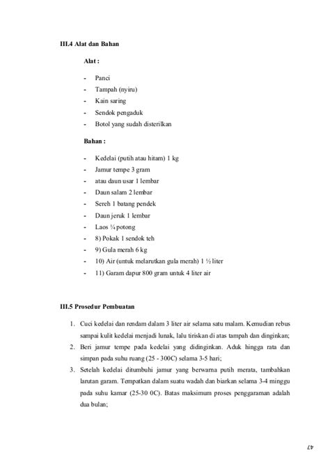 Alat Saring Cuci Beras 4 makalah pencemaran makanan pada produk kecap
