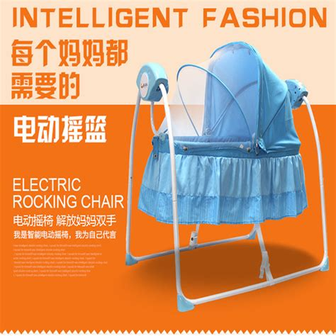 electric swing baby crib factory outlets electric cradle crib baby shaker rocking