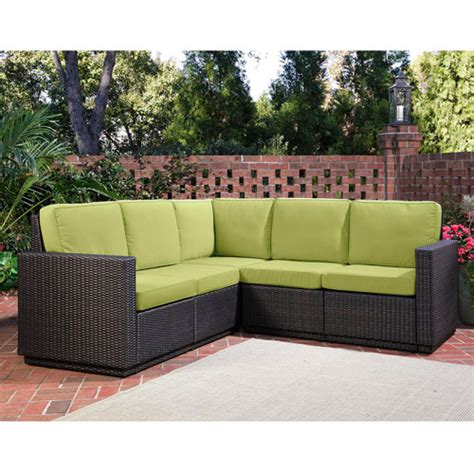 l shaped outdoor furniture home styles riviera outdoor 5 seat l shape sectional sofa