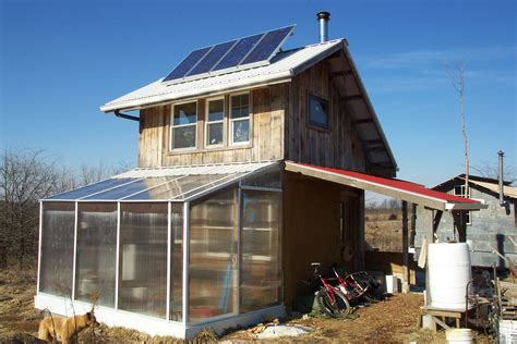 small solar home sustainable home heating rabbit ecovillage