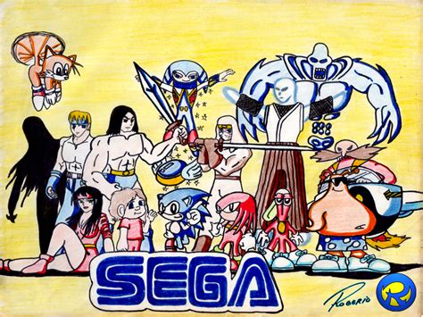 Kaset Sega Eternal Chion 1 sega characters by rogferraz on deviantart