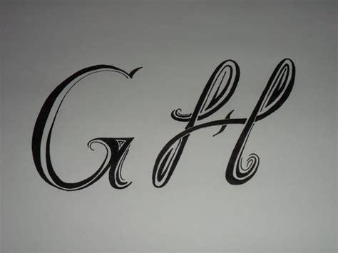 imagenes de la vida en letras letras tribales g y h bases elementales para dibujar