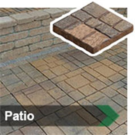 patio blocks menards landscaping materials at menards