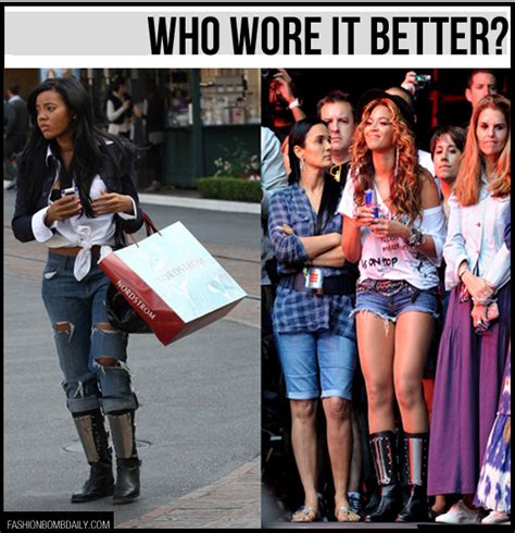 In Beyonces Closet Chanel by Who Wore It Better Angela Simmons Vs Beyonce In Chanel