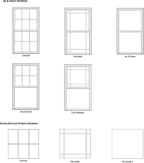 Window Pane Styles Bay Or Bow Replacement Windows