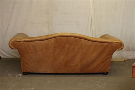 oversized couch cushions 1950s oversized french leather sofa with down filled