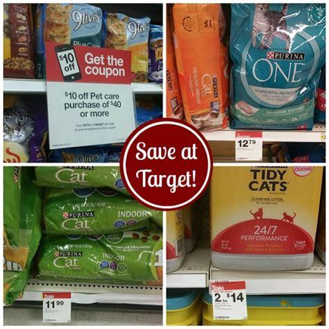 dog food coupons target deals on cat food litter treats at target