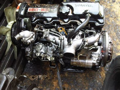 Toyota 2l Diesel Engine Parts Used Diesel Engine Toyota 2l Ii Mighty X