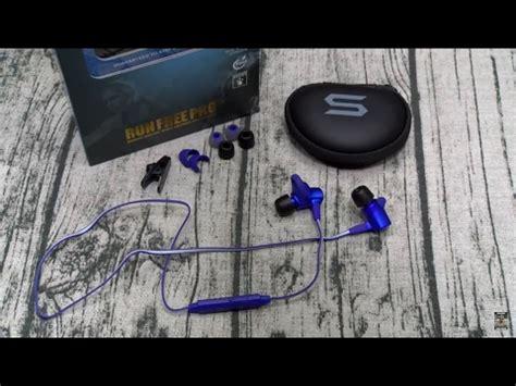 Run Free Pro Wireless Sport Bluetooth Earphone Waterproof Soul Black 1 Soul Run Free Pro Hd Wireless Sports Earphones Soul Clip60