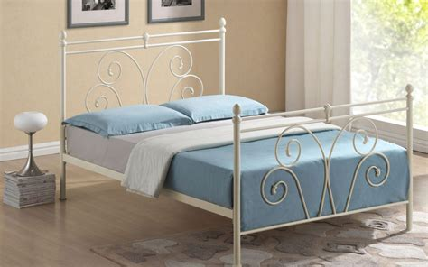 Buy Cheap King Size Metal Bed Frame Compare Beds Prices Cheap Metal King Size Bed Frame