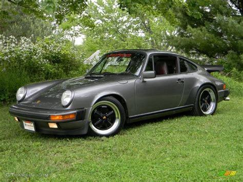 grey porsche 911 1986 meteor grey metallic porsche 911 coupe