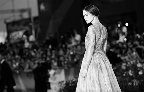Keira Knightley At The Venice Festival keira knightley in lancia on the carpet at the 68th