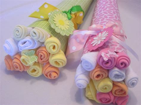 Baby Shower Washcloth Bouquet by Baby Washcloth Bouquets And Shower Gifts On