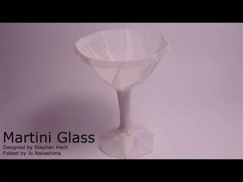 Origami Martini Glass - 301 moved permanently