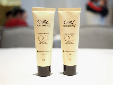 Cc Olay olay total effects pore minimizing cc review