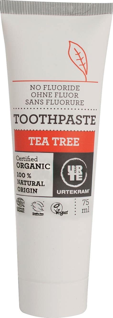 Urtekram Organic Tea Tree Shoo 250ml 1 urtekram organic tea tree toothpaste 75 ml ecco verde