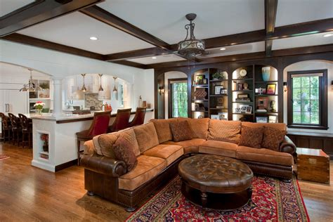 top grain leather sectional with ottoman top grain leather sectional family room traditional with
