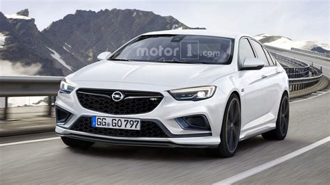 opel insignia 2017 opc new opel insignia opc rendered will most likely happen