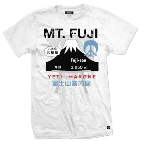Fuji 2 T Shirt gnarly mt fuji t shirt evo outlet