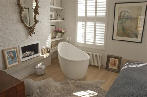 Badewanne Im Schlafzimmer by Romantisches Design Mit Einer Badewanne Im Schlafzimmer